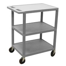 Economy 3-Shelf Lab Cart
