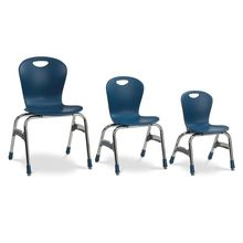 Fixed-Height Ergonomic Stacking Chair, 15