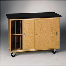 Mobile Laptop Storage Cabinet