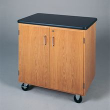 Mobile Lab Cart with Chemical-Resistant Laminate Top