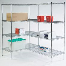 Wire Shelving Storage Starter Unit, 72