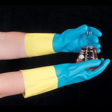 Gloves, Neoprene /Latex Utility, Large, Pair