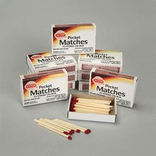 Wood Safety Matches, Pack of 10