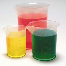 Polypropylene Beakers, 25 mL, Pack of 12