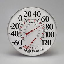 Dial Thermometer/Hygrometer