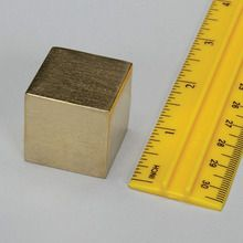 Density Cube, Brass, 1