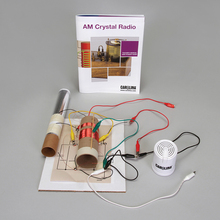 Carolina® AM Crystal Radio Kit