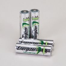 Energizer Rechargeable NiMH AA Battery, Pack of 4