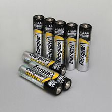 Energizer® Industrial Alkaline Battery, Size AAA, Pack of 8