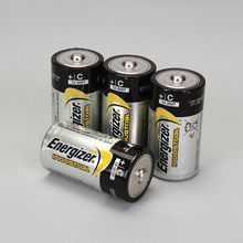 Energizer® Industrial Alkaline Battery, Size C, Pack of 4