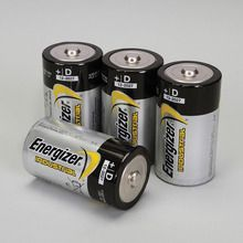 Energizer® Industrial Alkaline Battery, Size D, Pack of 4