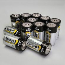 Energizer® Industrial Alkaline Battery, Size D, Pack of 12