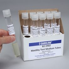 Motility Test Medium Agar without TTC, Prepared Media Tubes, Pack of 10