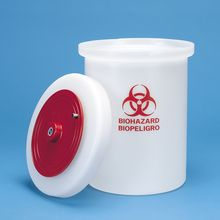 Biohazard Waste Container, 1 1/2 gal (5.5 L)