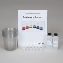 Carolina Chemonstrations®: Rainbow Indicators Kit