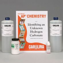 Identifying an Unknown Hydrogen Carbonate Kit for AP® Chemistry