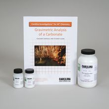 Carolina Investigations® for AP® Chemistry: Gravimetric Analysis of a Carbonate Kit