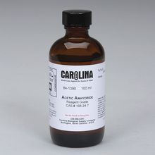 Acetic Anhydride, Reagent Grade, 100 mL