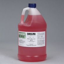 Buffer Solution, pH 4, Color Coded, Red, Laboratory Grade, 3.8 L