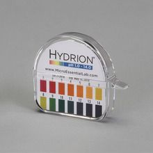Hydrion Spectral pH Paper Dispenser (pH 1.0 to 14.0), Single Roll