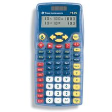 TI-15 Explorer™ Calculator