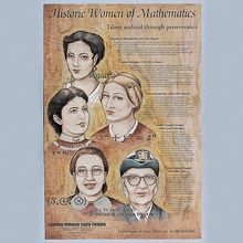 Historic Women of Mathematics Poster
