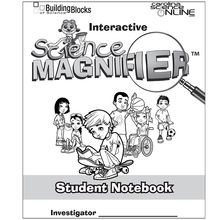 Interactive Science Magnifier® Student Notebook
