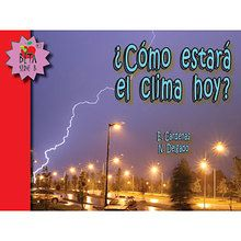 ¿Cómo estará el clima hoy? (What Is the Weather Like Today?) Reader, Spanish, set of 6