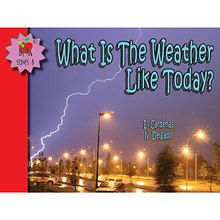 What is the Weather Like Today? Reader, English, Set of 6