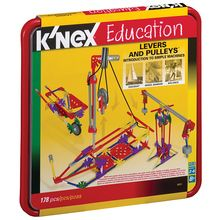 K'NEX Education Introduction to Levers and Pulleys Set