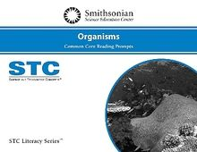 STC Literacy Series™ Organisms Common Core Reading Prompts, Individual License