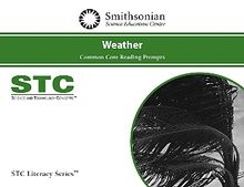 STC Literacy Series™ Weather Common Core Reading Prompts, School License