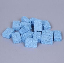 Sponge Square, Blue, Pack of 15