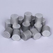 Cylinder, Aluminum, 1 x 1 in, Pack of 15