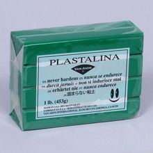 Clay, Plasticine, 1-lb Pack