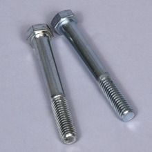 Bolt, Steel, 3 x 3/8 in, Pack of 2