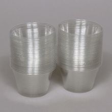 Cup, Plastic Clear, 4 oz, Pack of 50