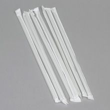 Straw, Wrapped, Pack of 8