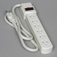 Power Strip, 3 feet, 6-Outlet White