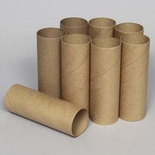 Tube, Cardboard, 5 x 15 cm, Pack of 8