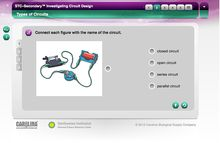 STC-Secondary™: Investigating Circuit Design Interactive Whiteboard Activity