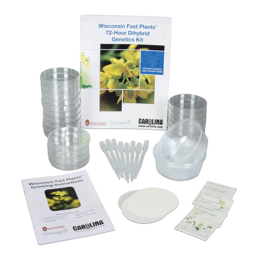 Wisconsin Fast Plants® 72-Hour Dihybrid Genetics Kit