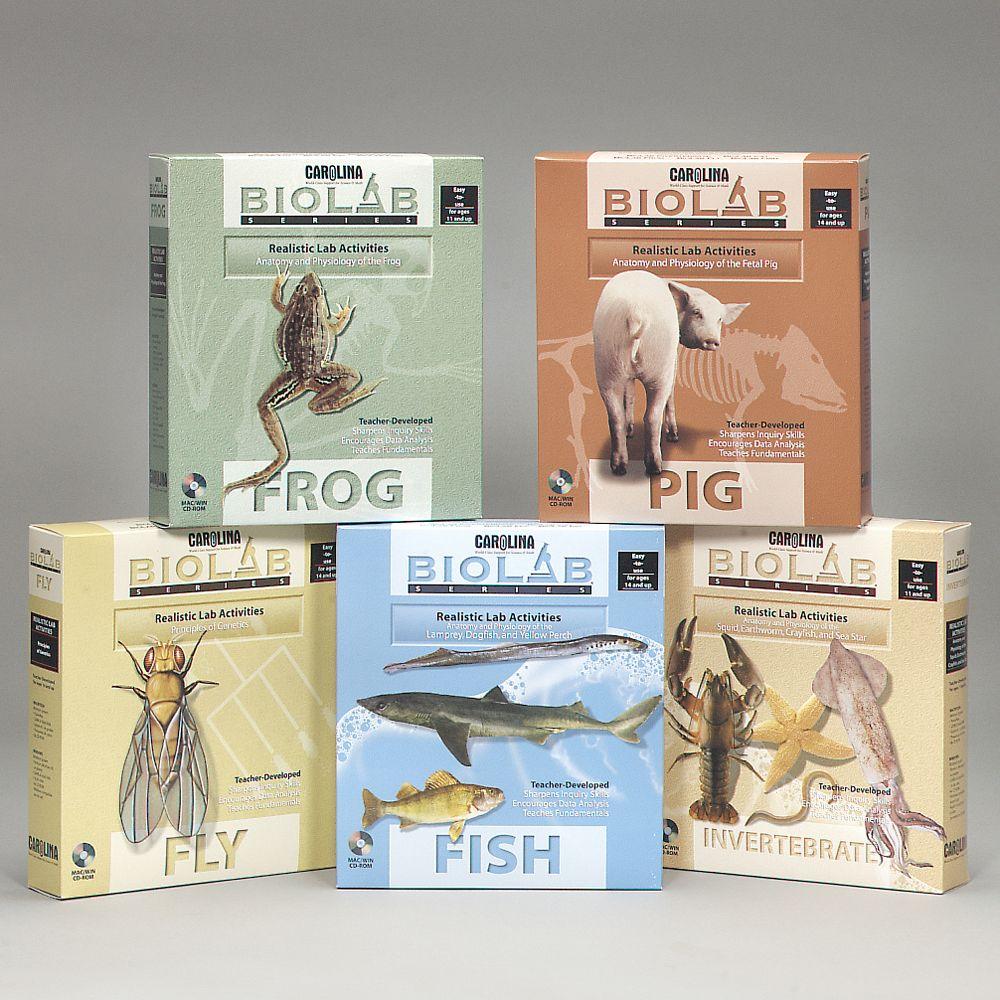 Bio Lab®: Virtual Lab Series CD-ROM Package   Carolina.com