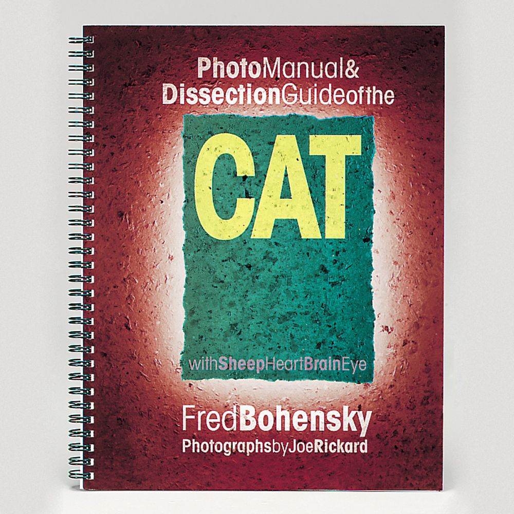 Photo Manual and Dissection Guide of the Cat   Carolina.com