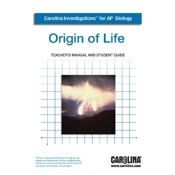 Carolina investigations for ap biology origin of life digital carolina investigations for ap biology origin of life digital teachers manual fandeluxe Image collections