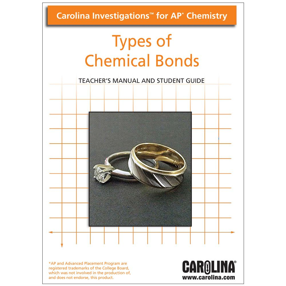 Carolina investigations for ap chemistry types of chemical carolina investigations for ap chemistry types of chemical bonds digital teachers manual fandeluxe Image collections