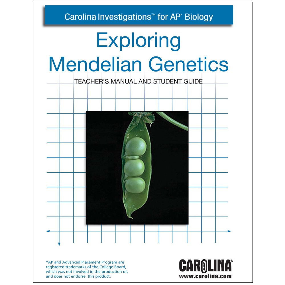 Carolina investigations for ap biology exploring mendelian carolina investigations for ap biology exploring mendelian genetics digital teachers manual fandeluxe Choice Image