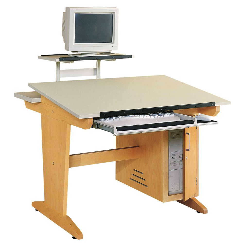 Superieur Drafting/Art Table, Tower Model With Flexible Monitor Arm (238 Lbs.)