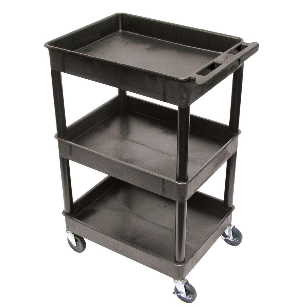 Three-Tub-Shelf Utility Cart | Carolina.com