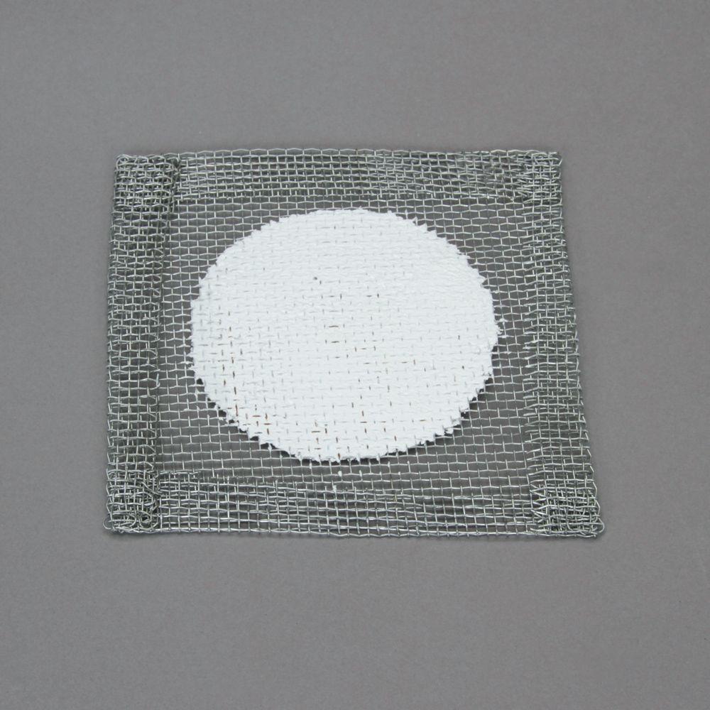 Wire Gauze, Ceramic Fiber Center, 5 x 5\